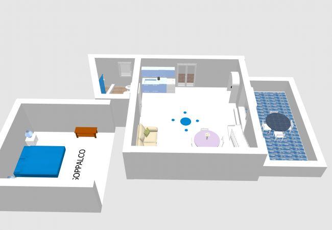 Appartamento a Ponza - Turistcasa - Un sogno nel cassetto 1 -