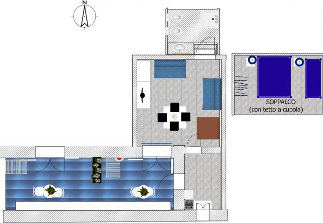 Appartamento a Ponza - Turistcasa - Corso Umberto 111 -