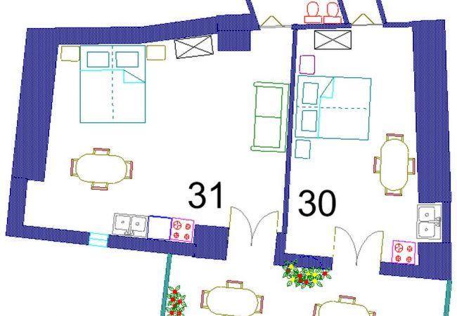 Appartamento a Ponza - Turistcasa - La Casetta 31 -