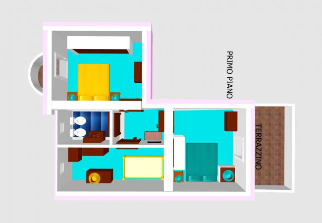 Villa a Ponza - Turistcasa - Fontana 78 -