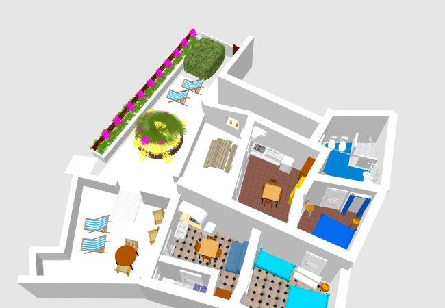 Appartamento a Ponza - Turistcasa - Frontone 101 -