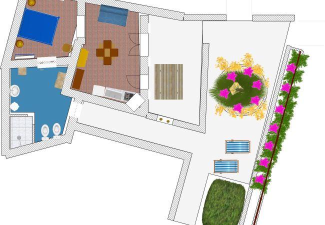 Apartment in Ponza - Turistcasa - Frontone 47 -