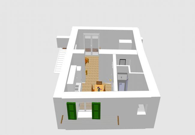 Apartment in Ponza - Turistcasa - Il Ballatoio 83 -