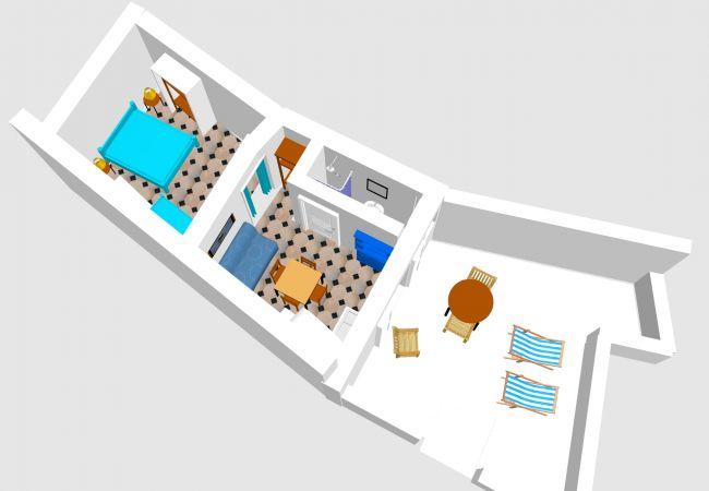 Апартаменты на Ponza - Turistcasa - Frontone 48 -